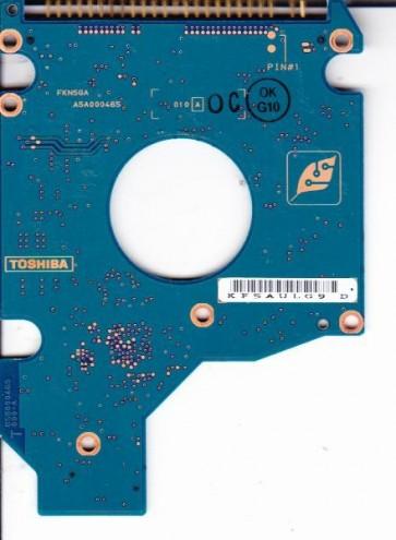 MK8026GAX, HDD2191 D ZK01 T, G5B000465000-A, Toshiba 80GB IDE 2.5 PCB