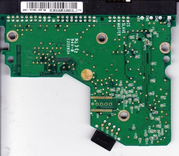 WD1600JB-00REA0, 2061-701292-C00 AE, WD IDE 3.5 PCB