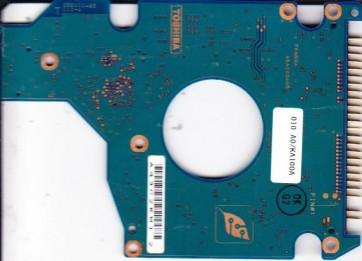 MK4025GAS, HDD2190 P ZE01 T, G5B000465000-A, Toshiba 40GB IDE 2.5 PCB