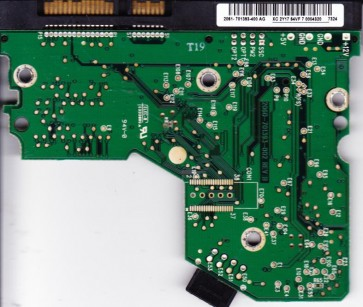 WD3200JS-22PDB0, 2061-701393-400 AG, WD SATA 3.5 PCB