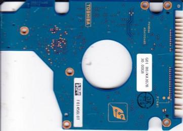 MK3025GAS, HDD2196 P ZE01 T, G5B000465000-A, Toshiba 30GB IDE 2.5 PCB