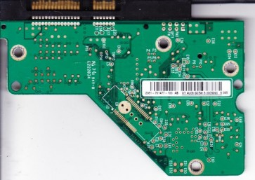 WD5000AAJS-22YFA0, 2061-701477-100 AB, WD SATA 3.5 PCB