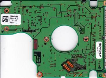 DJSA-210, PN 07N5661, 07N6055 F80430D, IBM 10GB IDE 2.5 PCB
