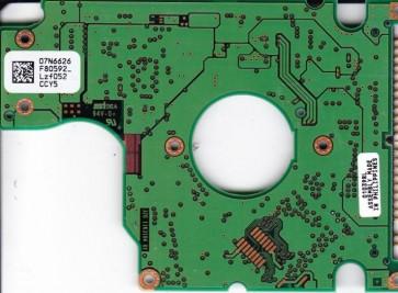 DJSA-220, PN 07N4388, 07N6626 F80592_, IBM 20GB IDE 2.5 PCB