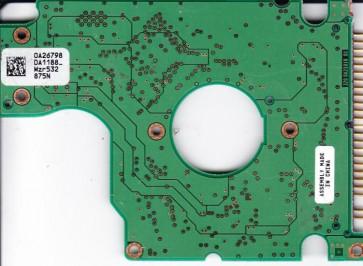 HTS541010G9SA00, PN 0A27470, 0A26798 DA1188, Hitachi 100GB IDE 2.5 PCB