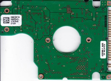 HTS548080M9AT00, PN 08K0878, 08K2818 H69545_, Hitachi 80GB IDE 2.5 PCB