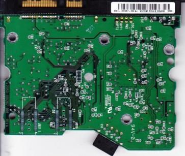 WD2500JD-00HBB0, 2061-007267-200 AJ, WD SATA 3.5 PCB
