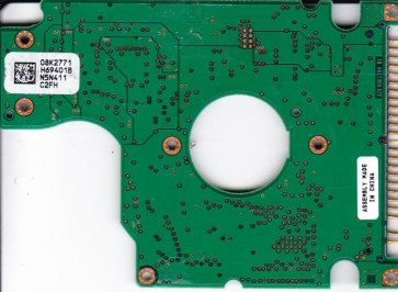 IC25N030ATMR04-0, PN 08K0910, 08K2771 H69401B, Hitachi 30GB IDE 2.5 PCB