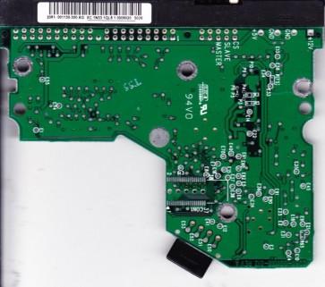 WD400BB-75FJA1, 2061-001130-300 AG, WD IDE 3.5 PCB
