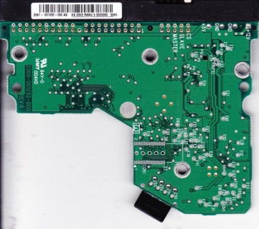 WD400BB-75JHA0, 2061-001292-000 AG, REV A, WD IDE 3.5 PCB