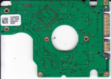 HTS541010G9SA00, PN 0A27410, 0A26800 DA1189B, Hitachi 100GB SATA 2.5 PCB