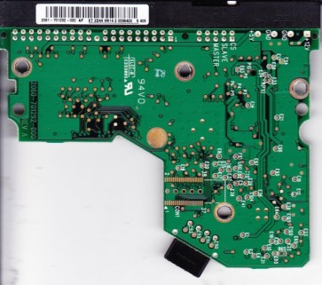 WD800BB-22JHC0, 2061-701292-000 AP, WD IDE 3.5 PCB