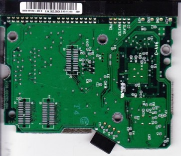 WD400BB-32CLB0, 0000 001092-400 D, WD IDE 3.5 PCB
