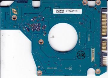 MK8032GSX, HDD2D32 H ZK01 S, G5B001355000-A, Toshiba 80GB SATA 2.5 PCB