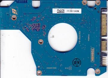 MK6034GSX, HDD2D35 V ZK01 S, G5B001590000-A, Toshiba 60GB SATA 2.5 PCB