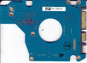MK2035GSS, HDD2A30 B ZK01 S, G5B001590000-A, Toshiba 200GB SATA 2.5 PCB