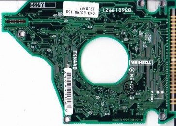 MK1214GAP, HDD2149 B ZE01 T, B36019922019-A, Toshiba 12.07GB IDE 2.5 PCB