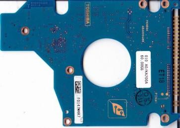 MK6025GAS, HDD2189 S ZE01 S, G5B000465000-A, Toshiba 60GB IDE 2.5 PCB
