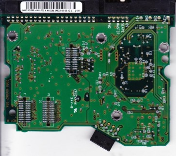 WD800BB-75BSA0, 0000 001062-001 FD2, WD IDE 3.5 PCB