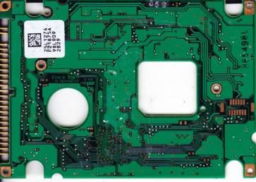 DKLA-24320, PN 25L2574, 25L1274 F21875A, IBM 4.32GB IDE 2.5 PCB