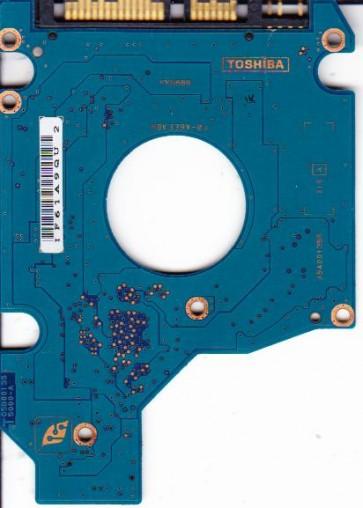 MK1032GSX, HDD2D30 S ZK01 T, G5B001355000-A, Toshiba 100GB SATA 2.5 PCB