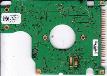 IC25N020ATD04-0, PN 07N6713, 07N5445 F80181A, IBM 20GB IDE 2.5 PCB