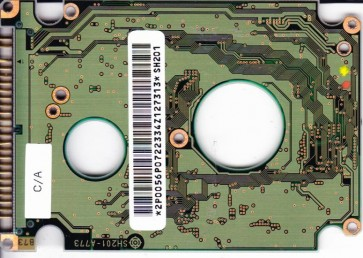 DK23AA-12, PN 09N0934, SH201, Hitachi 12GB IDE 2.5 PCB