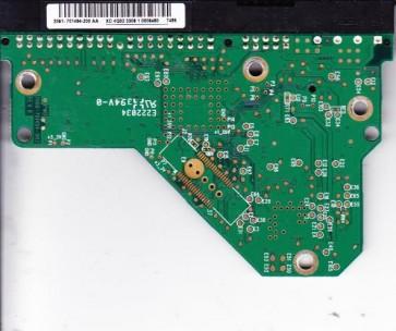 WD3200AAJB-00TYA0, 2061-701494-200 AA, WD IDE 3.5 PCB