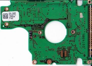 DARA-212000, PN 31L9749, 25L1689 F42377C, IBM 12.07GB IDE 2.5 PCB