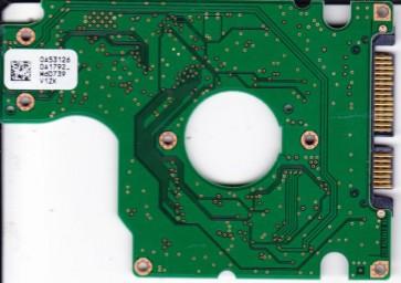 HTS541616J9SA00, PN 0A53664, 0A53126 DA1792_, Hitachi 160GB SATA 2.5 PCB