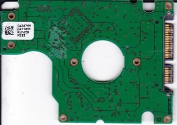 HTS541040G9SA00, PN 0A28692, 0A26799 DA1189C, Hitachi 40GB SATA 2.5 PCB