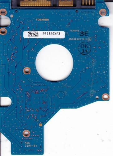 MK5055GSX, HDD2H21 A ZK01 S, G002217A, Toshiba 500GB SATA 2.5 PCB