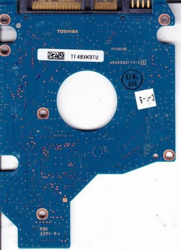 MK3253GSX, HDD2H18 P VK01, G002217A, Toshiba 160GB SATA 2.5 PCB