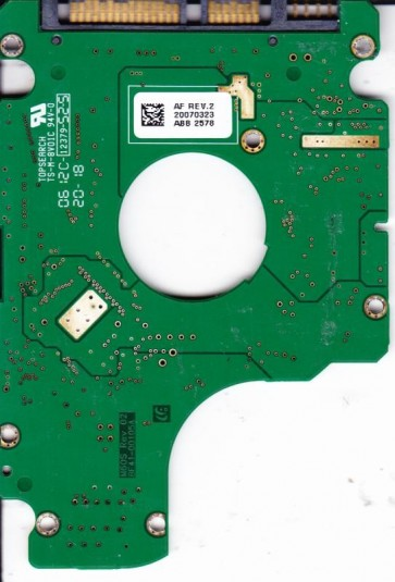 HM120JI, HM120JI/D, BF41-00105A, FW YF100-15, Samsung 120GB SATA 2.5 PCB