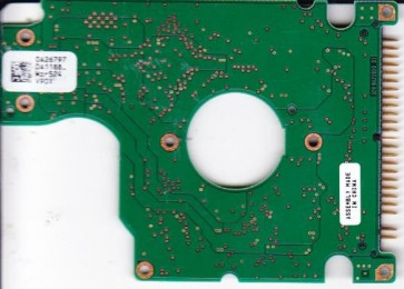 HTS541040G9AT00, PN 0A25432, 0A26797 DA1188_, Hitachi 40GB IDE 2.5 PCB