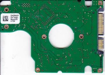 HTS541080G9SA00, PN 0A27404, 0A28640 DA1448_, Hitachi 80GB SATA 2.5 PCB