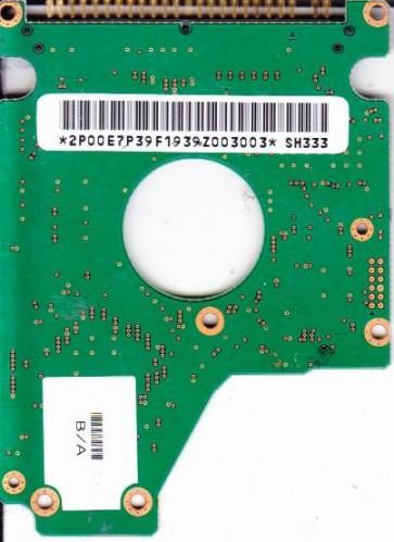 DK23FB-40, A/A0C1 B/A, SH333, Hitachi 40GB IDE 2.5 PCB