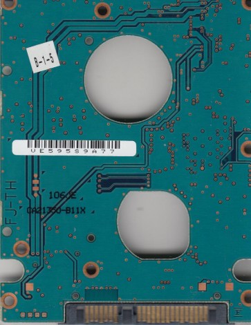MJA2500BH, CA07083-B50900AP, CA21350-B11X, Fujitsu SATA 2.5 PCB