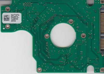 HTS543232L9A300, 0A71274 DA2813_, 0A57297, DA2861, Hitachi SATA 2.5 PCB