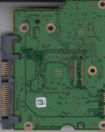 ST1500DL001, 9VT15L-570, CC98, 2010 H, Seagate SATA 3.5 PCB