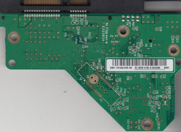 WD5000AACS-00ZUB0, 2061-701444-K00 AE, WD IDE 3.5 PCB