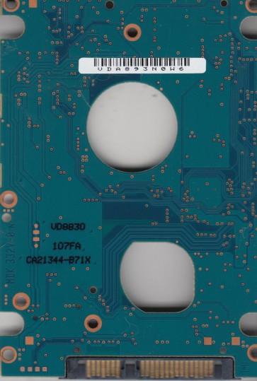 MHZ2160BH G2, CA07018-B30400DL, CA26344-B33104BA, Fujitsu 160GB SATA 2.5 PCB