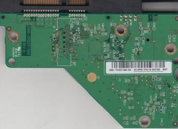WD5000AAVS-00G9B0, 2061-701537-Q00 AD, WD SATA 3.5 PCB