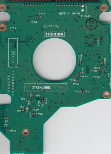 MK3018GAS, HDD2169 B ZE01 T, G5B000043000-A, Toshiba 30GB IDE 2.5 PCB
