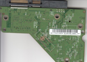 WD7502AAEX-00Y9A0, 2061-771702-101 04PD16, WD SATA 3.5 PCB