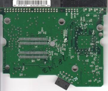 WD2500BB-50DWA0, 2061-001173-000 D, WD IDE 3.5 PCB