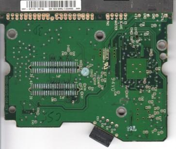 WD2500BB-98FTA0, 2061-001173-000 DJ, WD IDE 3.5 PCB