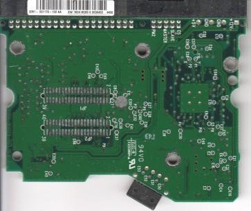 WD2500JB-00FUA0, 2061-001179-100 AA, WD IDE 3.5 PCB