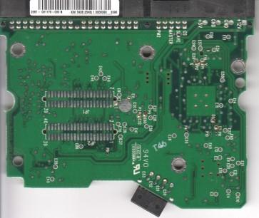 WD1200JB-34EVA0, 2061-001179-000 B, WD IDE 3.5 PCB