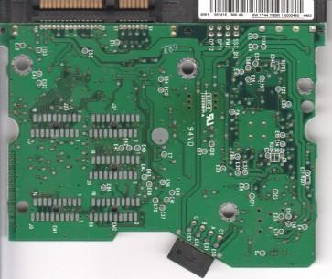 WD1600JD-40GBB2, 2061-001215-500 AA, WD SATA 3.5 PCB